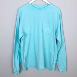 Vineyard Vines Blue Vintage Whale Graphic T-Shirt